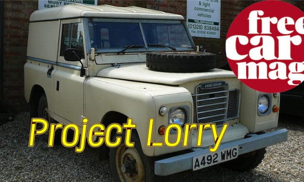 Project Lorry – Currently in Rusty Bits