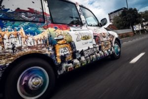 CFrosin 18 of 22 300x200 - Black cab provides white canvas for celebration of Coventry's 2021 bid