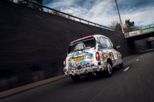 CFrosin 6 of 22 300x200 - Black cab provides white canvas for celebration of Coventry's 2021 bid