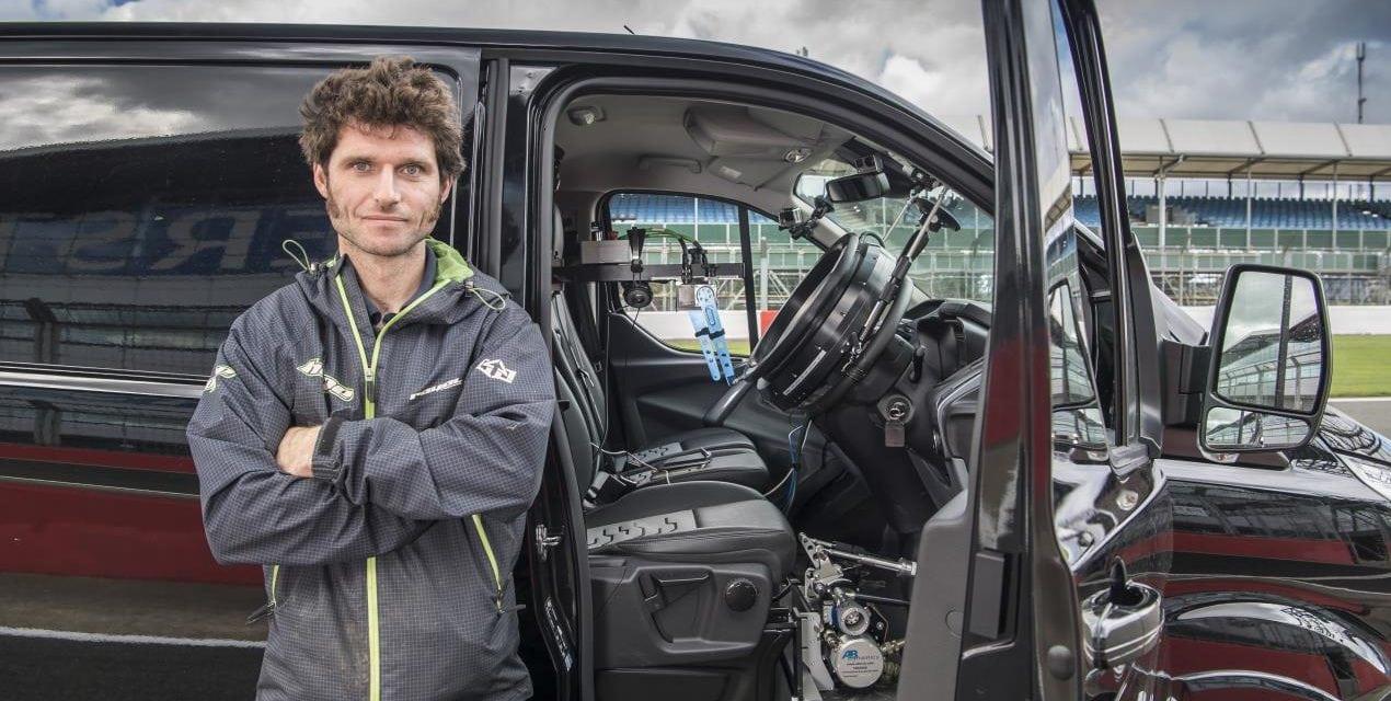 Guy Martin Builds Self Driving Van
