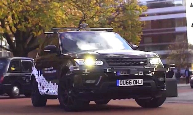 Self Driving Jaguar and Land Rovers now on UK roads