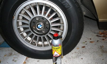 Tyreweld, we always have one or two in our boot