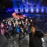 ANTHONY JOSHUA LIGHTS UP CHRISTMAS FOR NSPCC CHILDREN