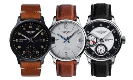 CHRISTOPHER WARD'S EXCLUSIVE MORGAN COLLECTION