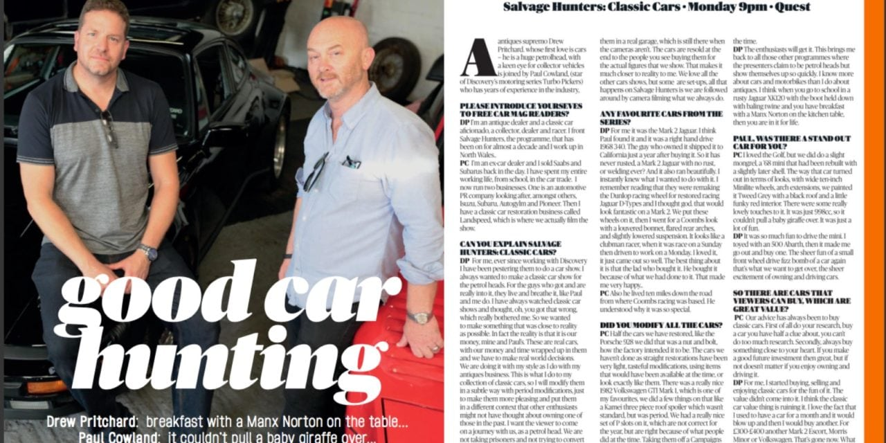 Salvage Hunters: Classic Cars: The Interview