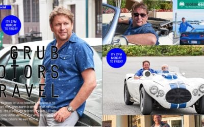 James Martin is on ITV with Grub and Cars