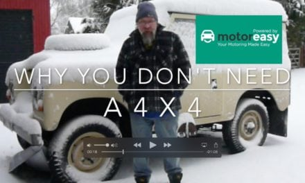 Why you don't need a 4 x 4