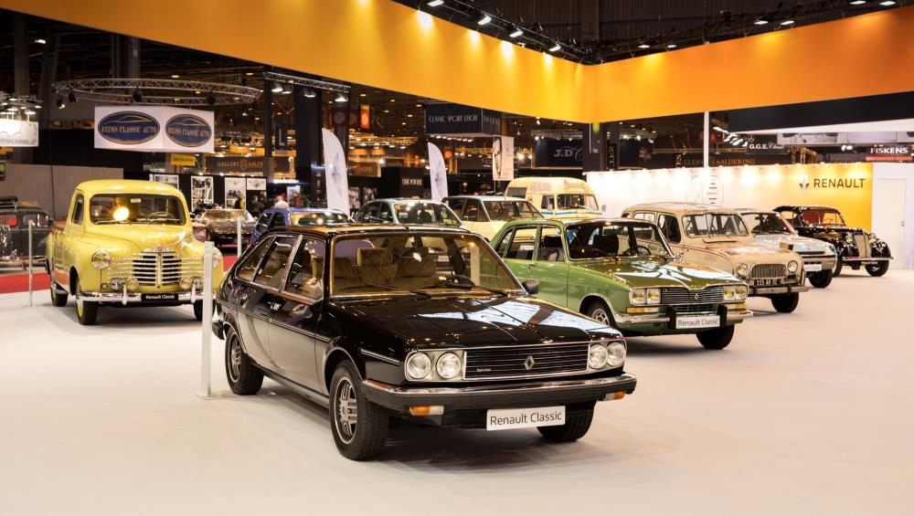 2018 retromobile show renault celebrates 120 years of for Garage renault flins