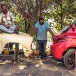 PEUGEOT remodels a Hindustan Ambassador into a  208 GTi