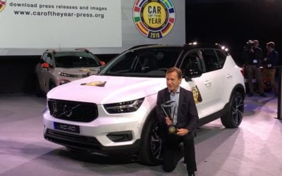 Volvo XC40 is European Car of the Year