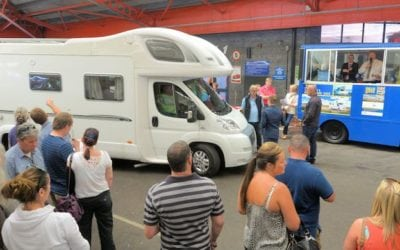Over 100 Caravans and Motorhomes on offer at BCA Nottingham