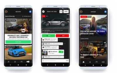 DriveTribe's new app