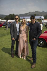 Actors Eric Bana Garrett Hedlund and Angela Sarafyan attend The Quail A Motorsports GatheringImage credit  www.adamswords.com copy 200x300 - The Quail, A Motorsports Gathering  combines Classics and Hollywood