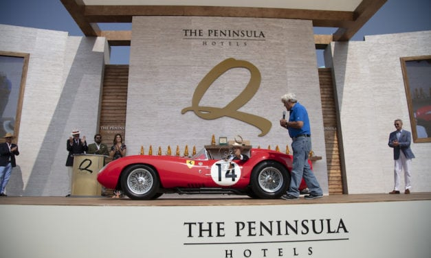 The Quail, A Motorsports Gathering  combines Classics and Hollywood
