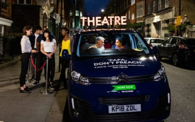 NEW WEST END THEATRE OPENS… IN A CAR