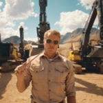 Dolph Lungren Pumps it Up with Volvo Excavators