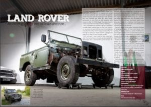 Spanner Addicts Land Rover 300x212 - Spanner Addicts produce the Spanner Report