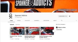 Spanner Addicts You Tube 300x162 - Spanner Addicts produce the Spanner Report