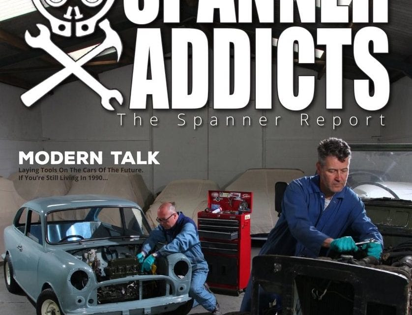 Spanner Addicts produce the Spanner Report
