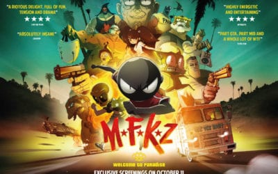 MFKZ is our sort of madcap MANGA cartoon