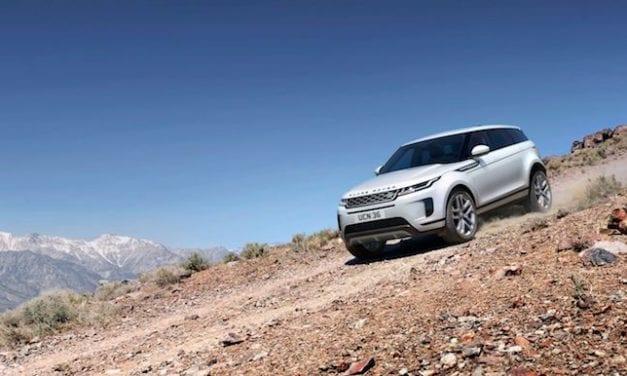 The New Land Rover Evoque