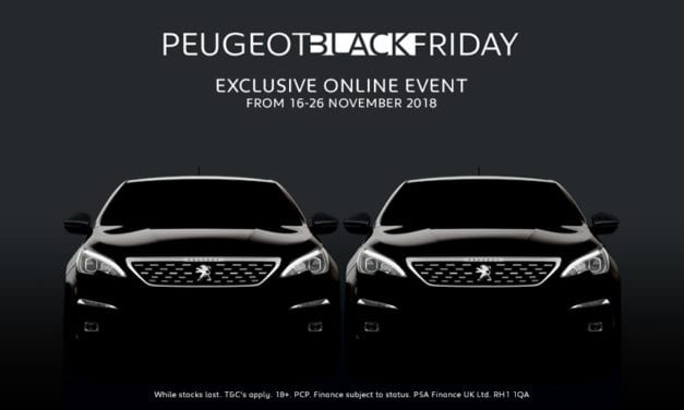 PEUGEOT 'BLACK FRIDAY' GREAT DEALS ONLINE