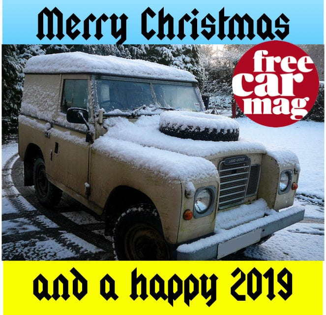 Merry Christmas from Free Car Mag
