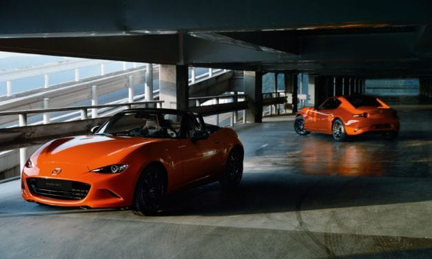 Mazda MX-5 Goes 30th Anniversary Orange