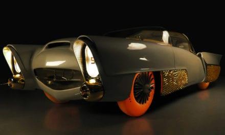 Goodyear Tyres Restore a Groovy '50s Autonomous Car