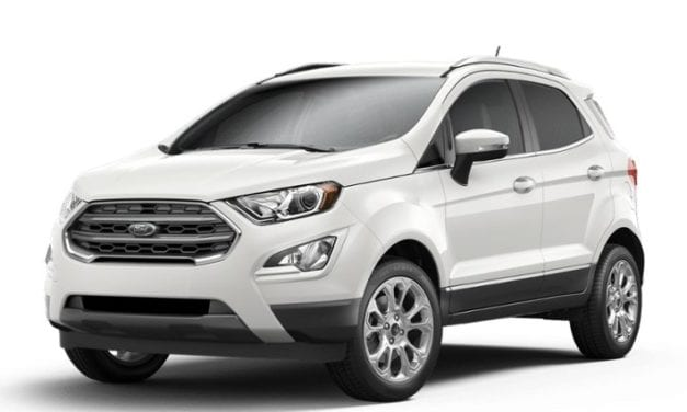 Ford EcoSport is February's fastest-selling used car says Indicata UK