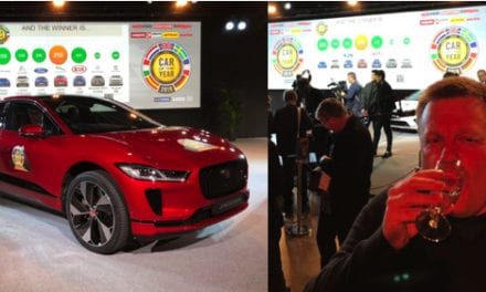 Trebles all round as Jaguar I-Pace crowned European Car of the Year