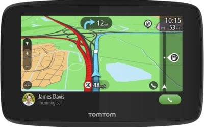 Sat Nav Up with a Tom Tom at Halfords