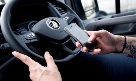 OVER HALF OF VAN DRIVERS RISK FINE FOR USING MOBILE PHONES Says Volkswagen Vans