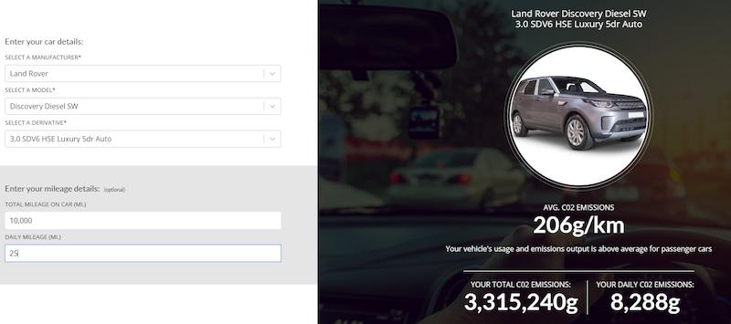 AMT Emissions Calculator reveals true car CO2 levels