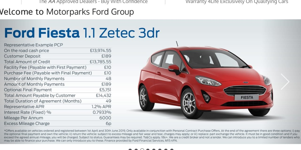 British car buying habits explained by Ford Dealer Motorparks