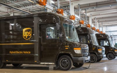 Coming to a City near you low emission deliveries from UPS