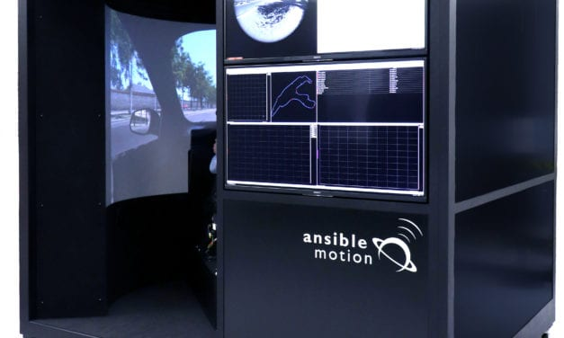 First self-contained engineering-class driving simulator unveiled, capable of validating the latest automotive megatrends