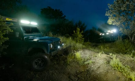 Osram LEDriving® working lights bring the great outdoors to life