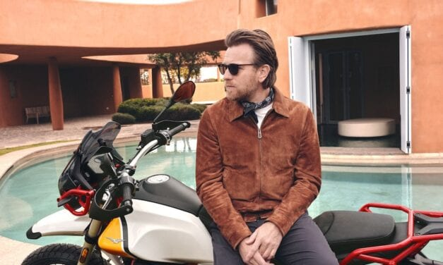 Which celebrities ride motorcycles?