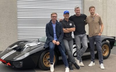 Mark Stubbs Roger Behle Ant Anstead and Jenson Button Radford Returns 400x250 - Celebrities