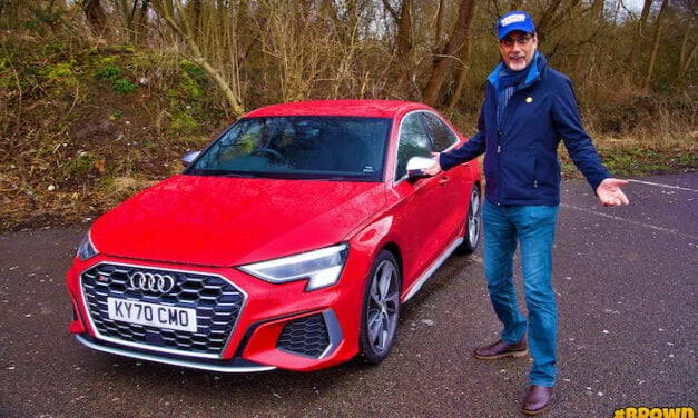 Brown Car Guy drives the new Audi S3