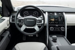Land Rover Discovery inside 300x200 - 2021 Land Rover Discovery Review by Brown Car Guy