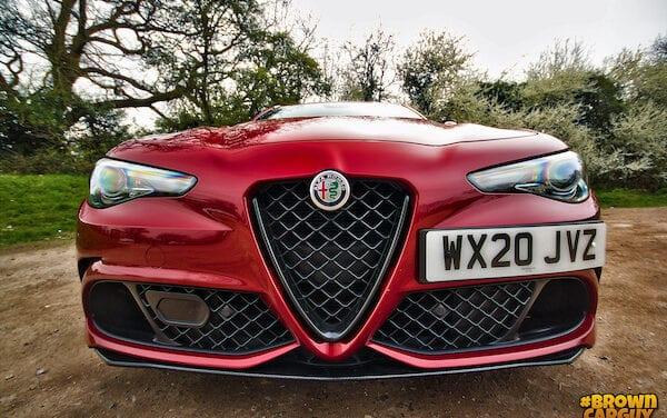 Alfa Romeo Giulia Quadrifoglio driven by Brown Car Guy